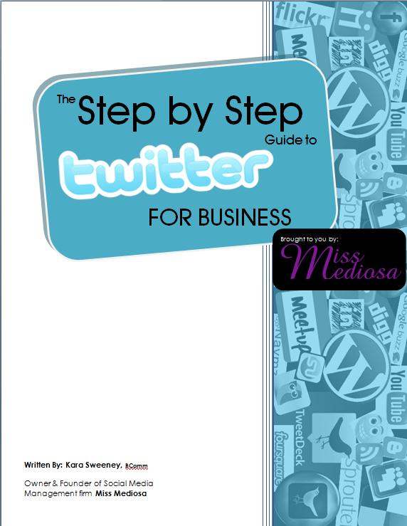 Step by Step Guide to Twitter for Business