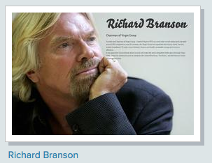 About.me Richard Branson