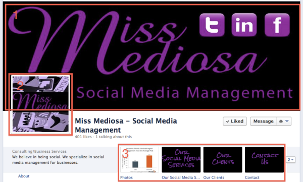 Miss Mediosa Facebook Page